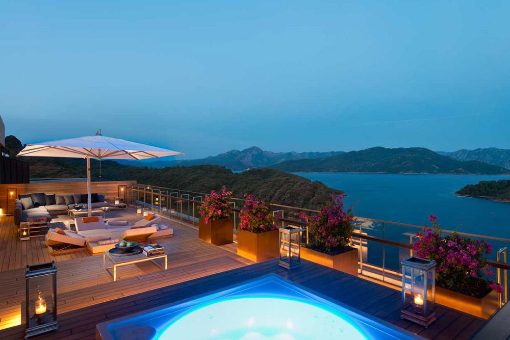 Presidential Suite Terrace at D-Hotel Maris, Turkey
