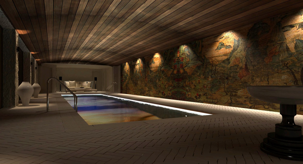 Pool at The Marmara Park Avenue, New York