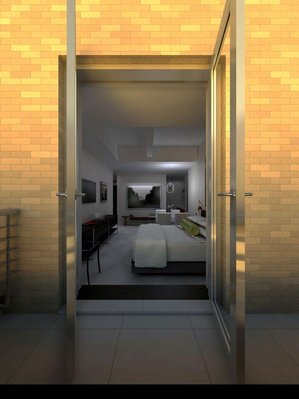 Bedroom at The Marmara Park Avenue, New York