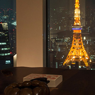 View from Guest Room at Andaz Tokyo Toranomon Hills