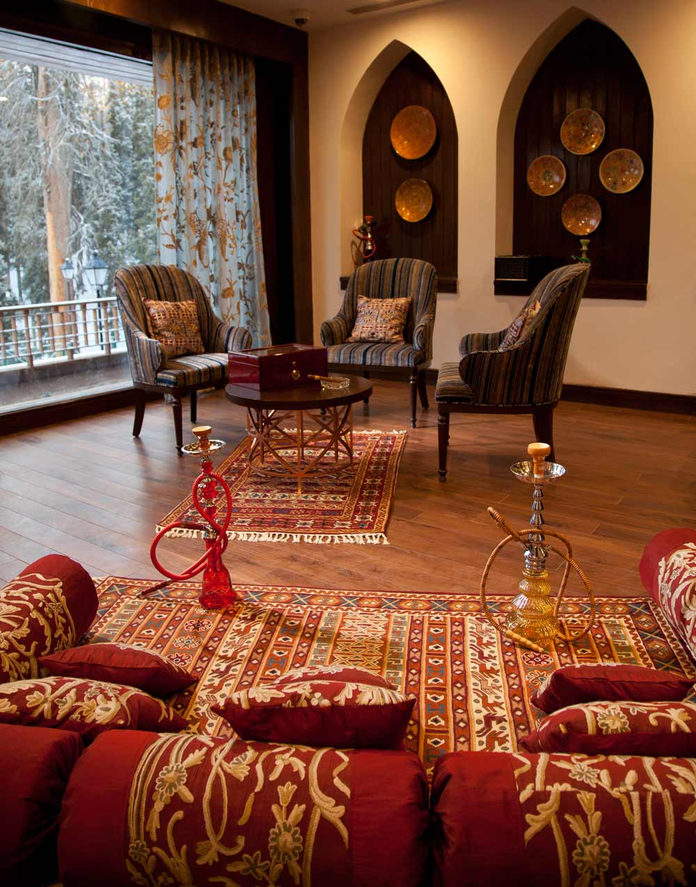 Sitting Room at Khyber Himalayan Resort and Spa