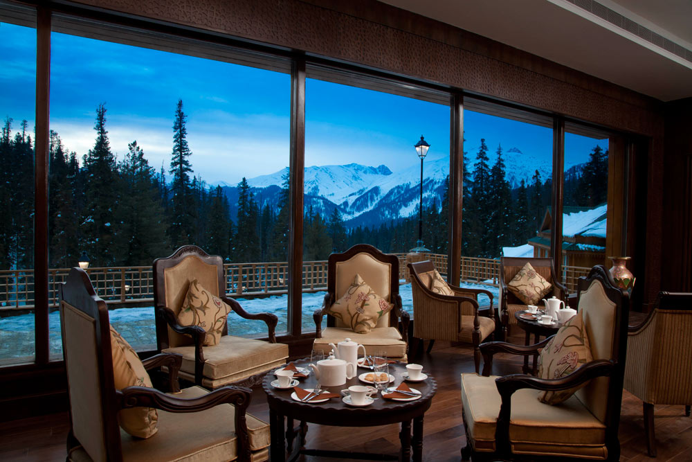 Chaikash Tea Lounge at Khyber Himalayan Resort and Spa
