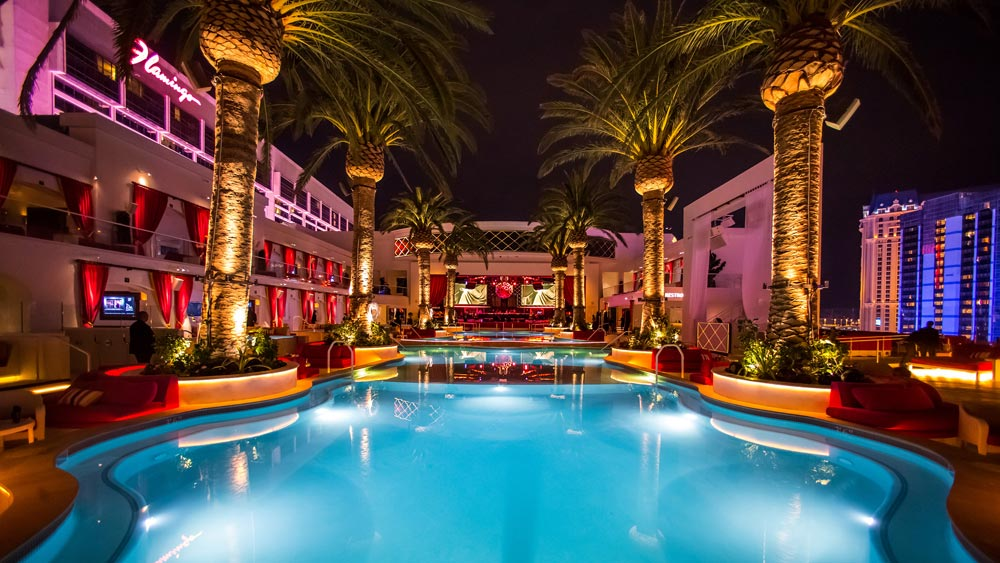 Drais Beach Club Pool at The Cromwell Las Vegas