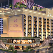 Exterior of The Cromwell Las Vegas