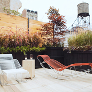 Broomhouse Terrace at The Broome Hotel New YorkNY
