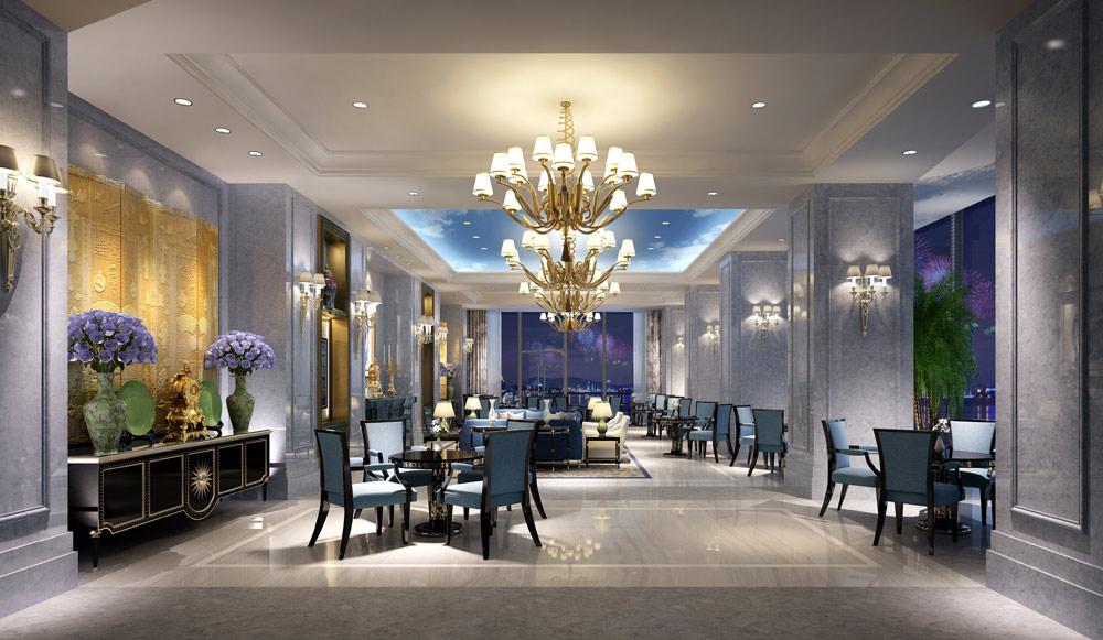 Lobby Bar at The Azure Qiantang, Hangzhou