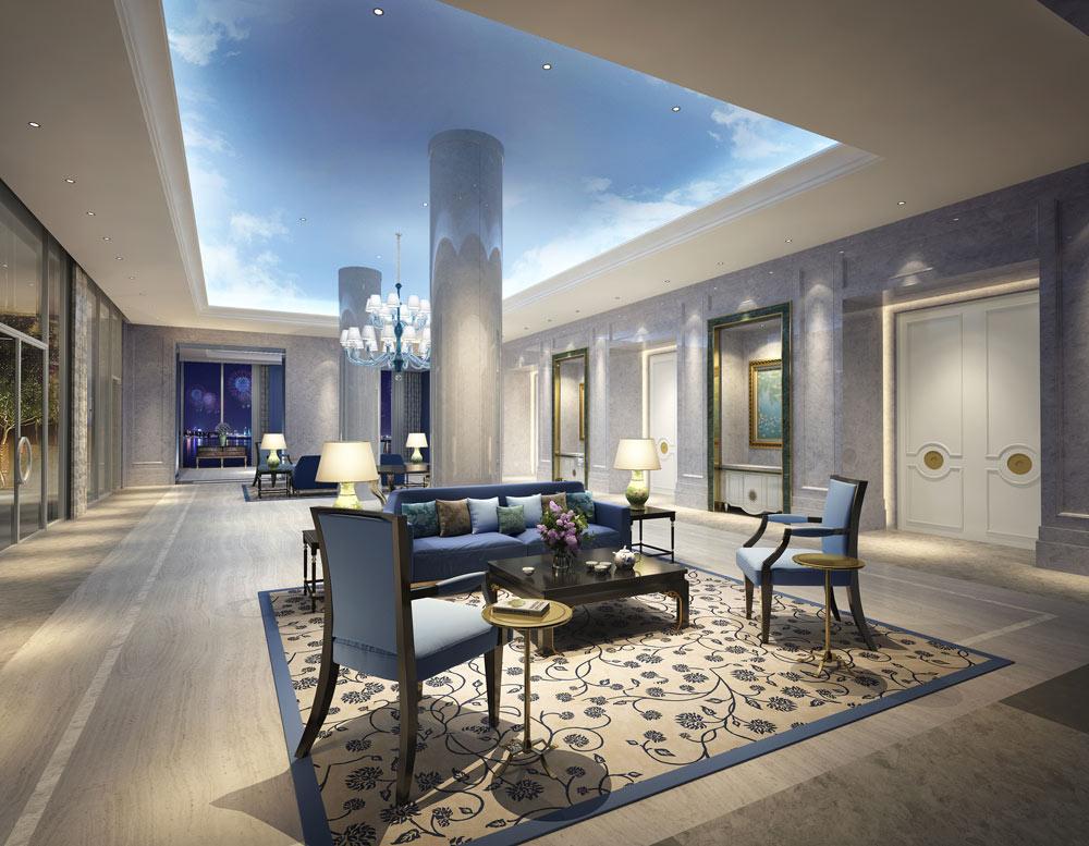 Meeting Room Foyer at The Azure QiantangHangzhou