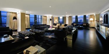 Mofarrej Presidential Suite Living Area at Tivoli Sao Paulo - Mofarrej