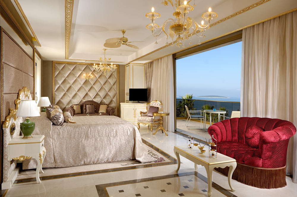 Guest Room with a View at Golden Savoy, Bodrum