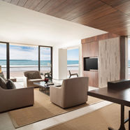 Beach Suite Living Room at Alila Seminyak BaliIndonesia