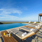 Infinity Pool at Pikaia Lodge GalapagosEcuador