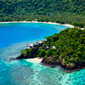 Aerial View of Laucala Island Resort
