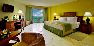 Junior Suite with Ocean View at Sonesta Great Bay Beach Resort, Philipsburg, Sint Maarten