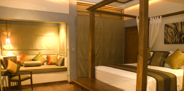 Bedroom at Serene Pavillions
