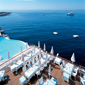 Pool and Dining at Hotel du Cap Eden RocDAntibesFrance