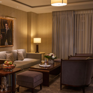 Mayfair Suite Sitting Area at The Beaumont London