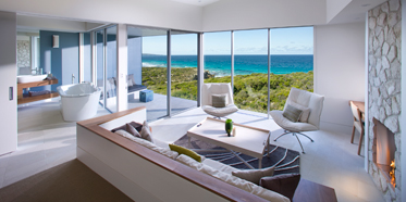 Suite Living Area at Southern Ocean Lodge Kangaroo Island, Australia