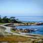 17 Mile Drive Coastline With Cypress, The Lodge at Pebble Beach, CA
