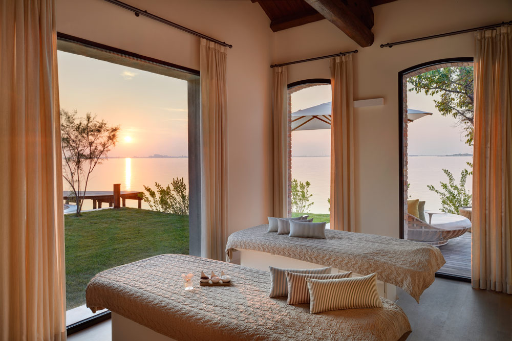 Spa treatment at JW Marriott Venice Resort and Spa