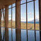 View from the Indoor Pool at Tierra Patagonia Hotel and Spa