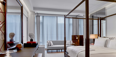 Guest Room at Baccarat Hotel New York