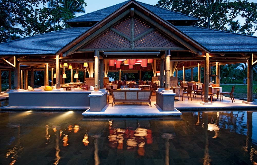 Dining at Constance Ephelia Seychelles