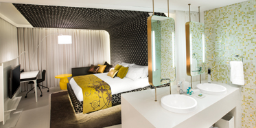 Guestroom at W Hotel Bogota, Columbia