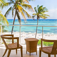 Lounge On The Terrace With Sea Views, Westin Puntacana Resort And Club