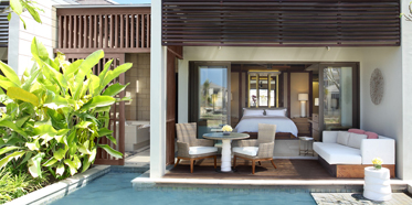 Pool Pavilion Guest Room at The Ritz-Carlton, Bali