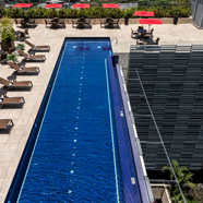 Rooftop Pool at Cayena-Caracas