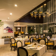 La Sibillathe restaurant directed by renowned chef Massimo Moriat Cayena-Caracas