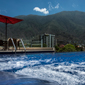 Rooftop Pool and City View at Cayena-Caracas