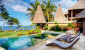 Beachfront grand pool villa with private poolPacific HarbourFiji Islands