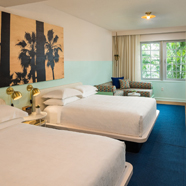 Double Guest Room at The HallMiami BeachFL
