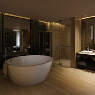 Guest Bath at Dusit D2 New Delhi