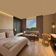 Guest Room at Dusit D2 New Delhi