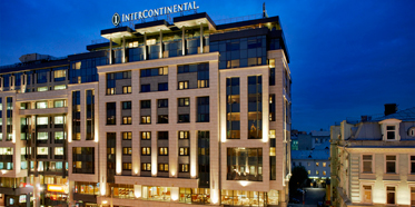 Exterior of InterContinental Moscow Tverskaya