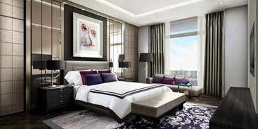 Guest Room at Fairmont Jakarta