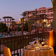 Terrace Dining at Sofitel Legend Old Cataract Aswan in AswanEgypt