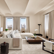 Suite Living Area at The New York EDITION, USA