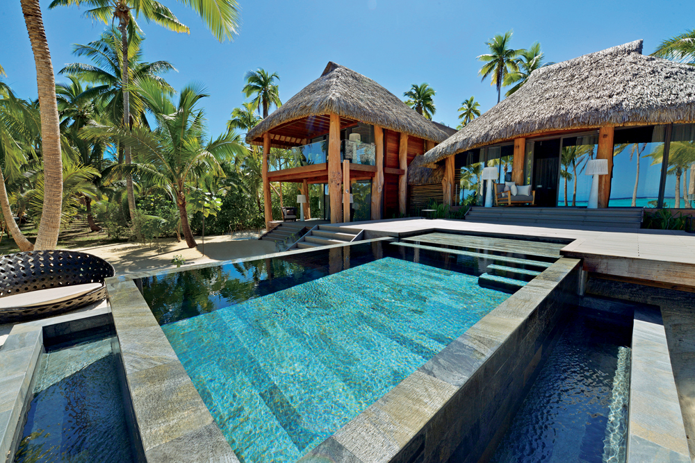 The Brando three bedroom villa exterior, Arue, French Polynesia