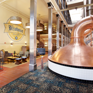 The Brewhouse Inn and Suites lounge, Milwaukee, WI
