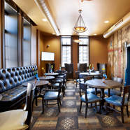 The Brewhouse Inn and Suites dining venue, Milwaukee, WI