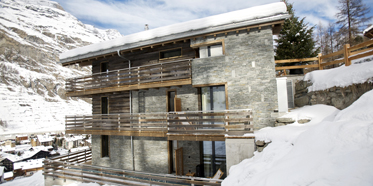Exterior view of Cervo Zermatt, Switzerland