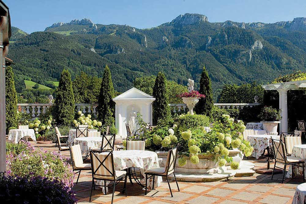 Terrace at Residenz Heinz Winkler