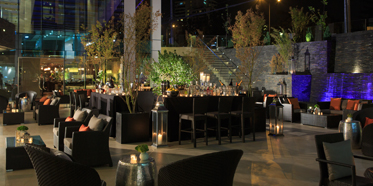 Olas Terrace at Renaissance Santiago Hotel, Chile