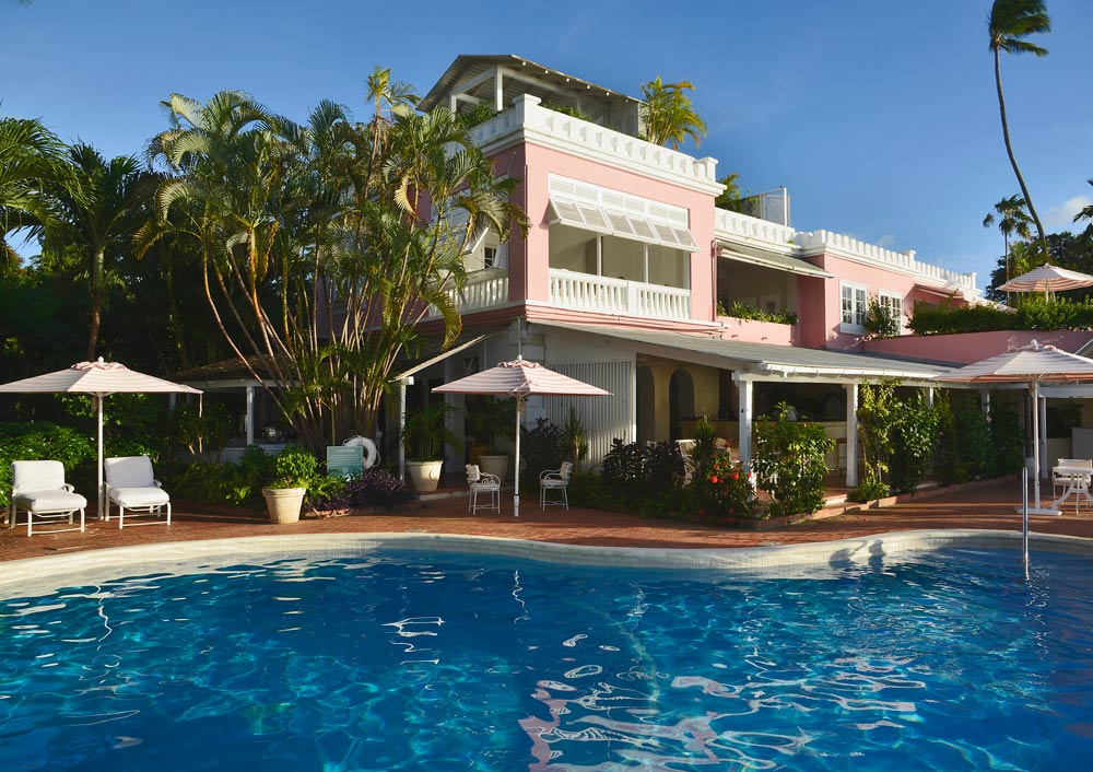 Great House and Pool at Cobblers Cove, Barbados