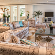 Suite Living Room at Palazzo Versace Dubai
