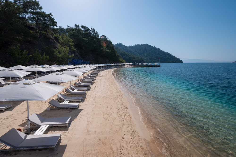 Beach at D-Resort Gocek