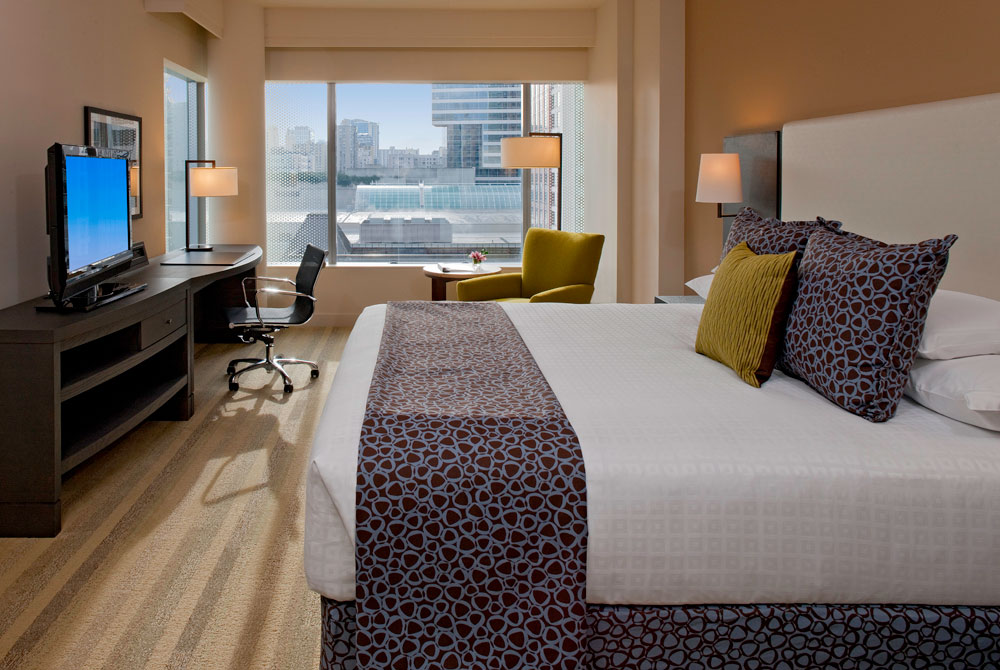 Guestroom at Hyatt at Olive 8, WA